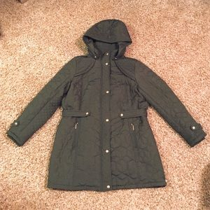1X Weatherproof dark olive green winter coat